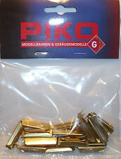 PIKO 35290 Fishplates x 20 (Track Joiners) To Fit PIKO G Gauge Garden Track 1stP