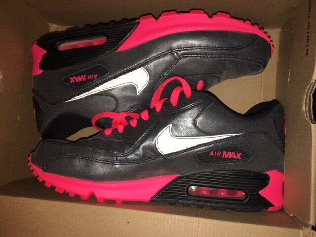 Femme Nike Air Max 90 noir Metallic Gr:36 Sneaker 95 97 Premium command NEU