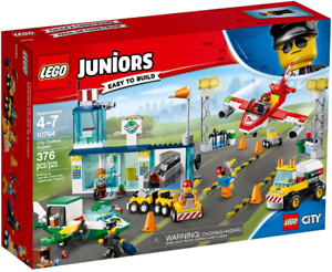 LEGO 10764 Juniors City Central Airport w  Planes & Vehicles New Sealed Set