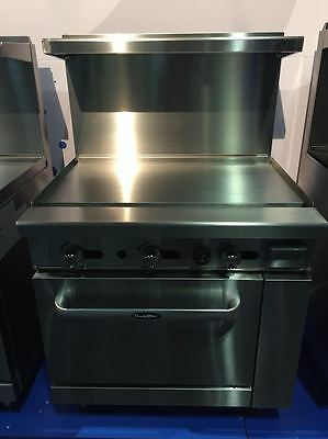 Flat Top Griddle Full Oven Stove