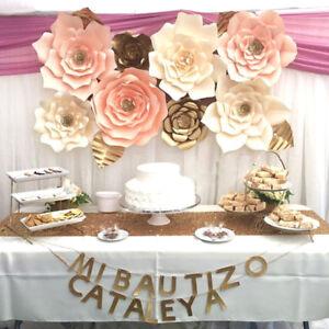 3040cm 1pcs paper flower backdrop wall large rose flowers wedding image is loading 30 40cm 1pcs paper flower backdrop wall large mightylinksfo