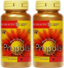 Propolis 1000mg - 90 Caps X 2 pots 180 caps in total - Bee Health