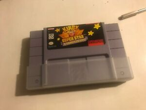 Kirby Super Star - 8 Games in One SNES Game Instruction ...
