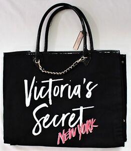 b05d4d1d4f Victoria s Secret New York Angel City Tote Cotton Canvas Travel Shop ...