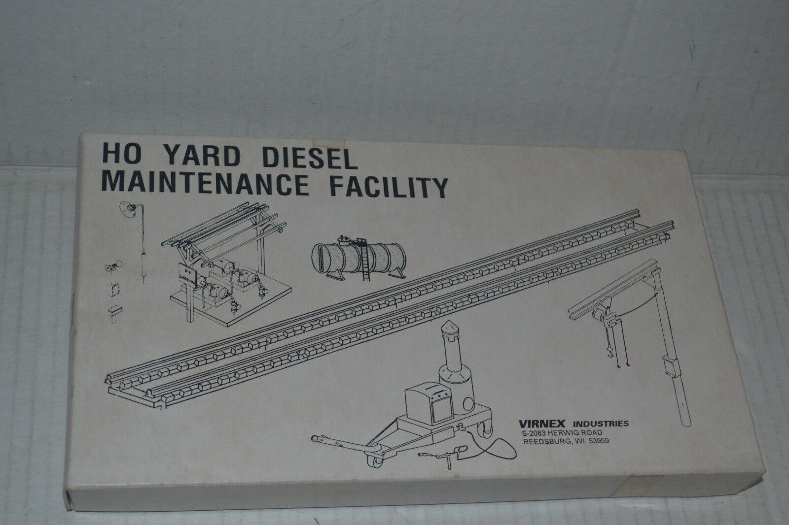 Stewart Virnex 211 Ho Yard Diesel Maintenance Facility Craftsuomo Style Kit