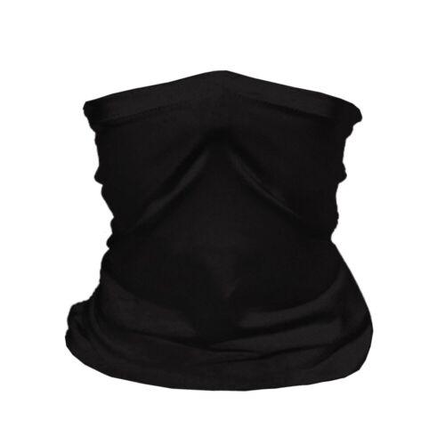 3 PACK Neck Gaiter Bandana Breathable Scarf Headband Reusable UV 2-LAYERS
