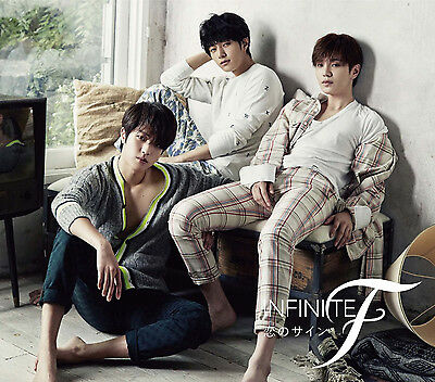 INFINITE F Japan 1st Single [Koi no sign] (CD + BOOKLET) Regular Edition