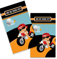 Motorcycle Hispanic Baby Boy - Baby Shower Scratch Off Game Pack