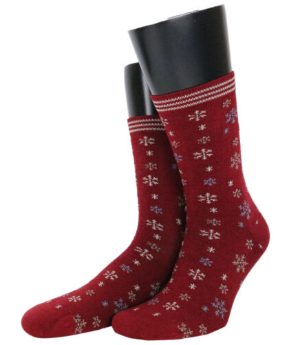 Ladies Snowflake Bamboo Socks from Thought