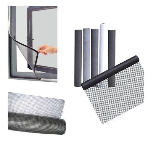 Gitternetz 4m Magnetband Typ A+B 1,5 x 12,7mm je 10m Fliegengitter-Magnet-Set