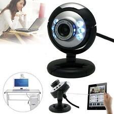 12.0Mega USB 6 LED Webcam Web Cam Camera w/ Mic Micphone for Laptop Mac Skype SD