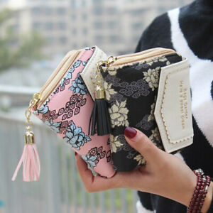 Women-Wallet-Short-Small-Money-Purse-Ladies-Leather-Folding-Coin-Card-Holder