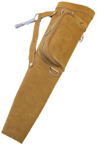 SEITENKÖCHER HUNTER SIDEBAG natur Clip Pfeilköcher Bogensport Köcher Köcher Köcher Lederköcher be5a98