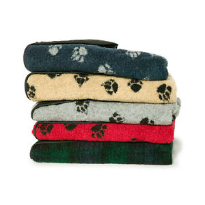 Nouveau Doux et Confortable Fleece Pet Blanket Paw Print Design Chiens Chats Confortable Chaud