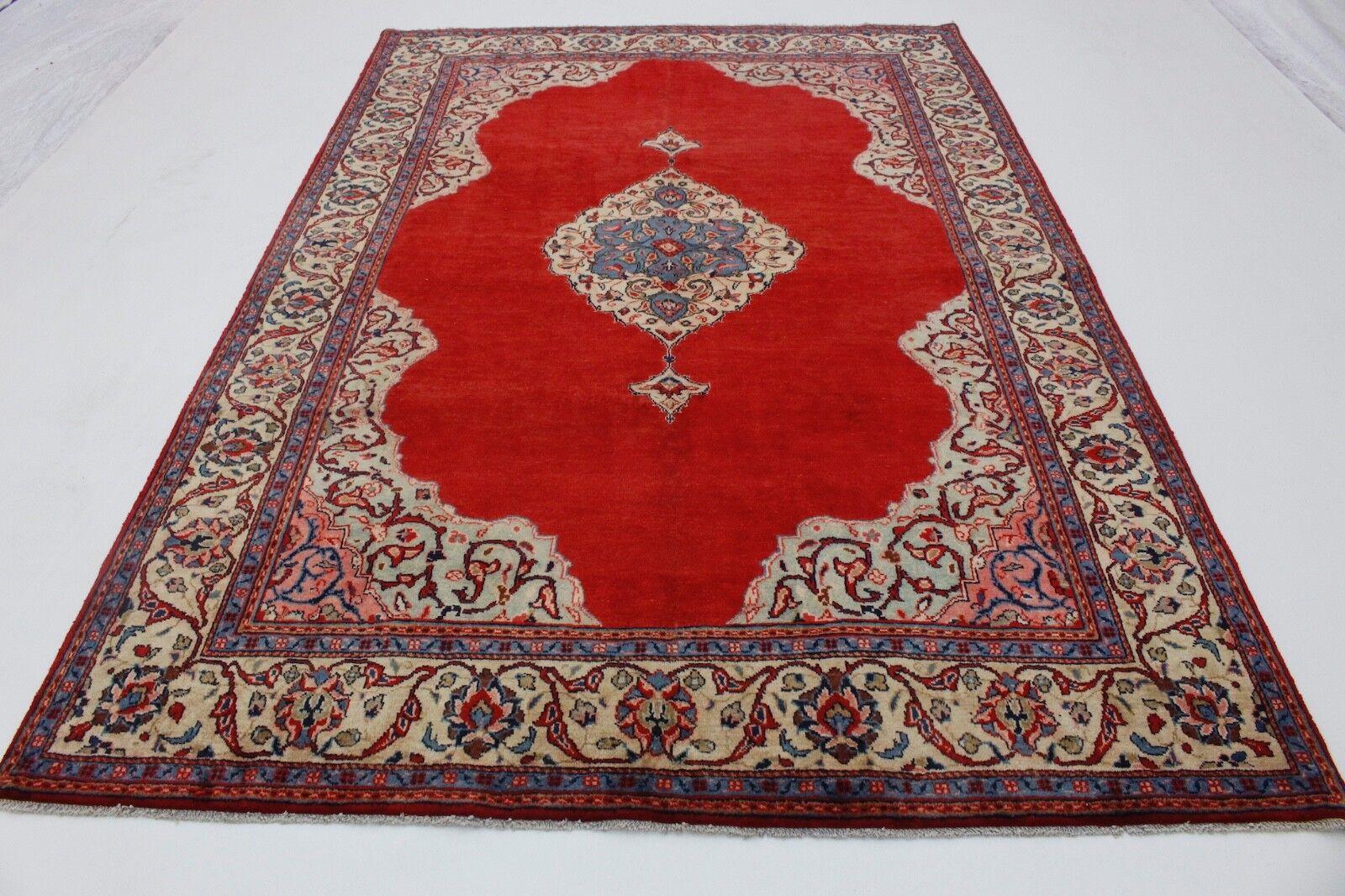 Subalmacén de venta alfombra persa sarough clásico hermosa 320x220 hecha KL 4234