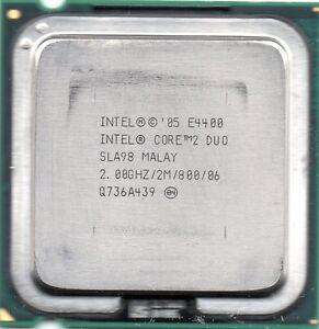 INTEL CORE 2 DUO E4400 (2M Cache, 2.00 GHz, 800 MHz FSB)