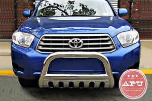 New Oem Toyota Tacoma Hood Protector Bug Deflector Ebay ... -2013 Toyota Highlander Stainless Bull Bar Brush Bumper Guard   eBay