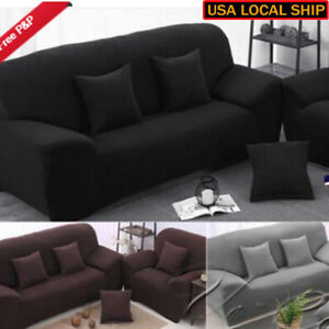 1-3-Seater-Stretch-Loveseat-Sofa-Couch-Protect-Cover-Slipcover-Washable-Elastic