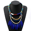 Fashion-Bohemia-Women-Jewelry-Pendant-Choker-Crystal-Chunky-Statement-Necklace thumbnail 55