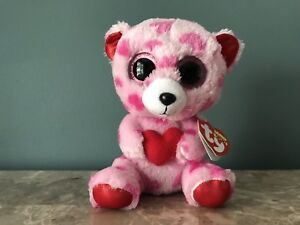 "6/"" Sherbet the Dog Ty Beanie Boos New With Tags Valentine/'s Day"