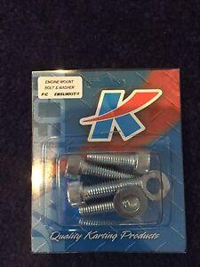 Go-Kart-Engine-Mount-Slide-Bolt-amp-Washer-KIT-2-Each-NEW