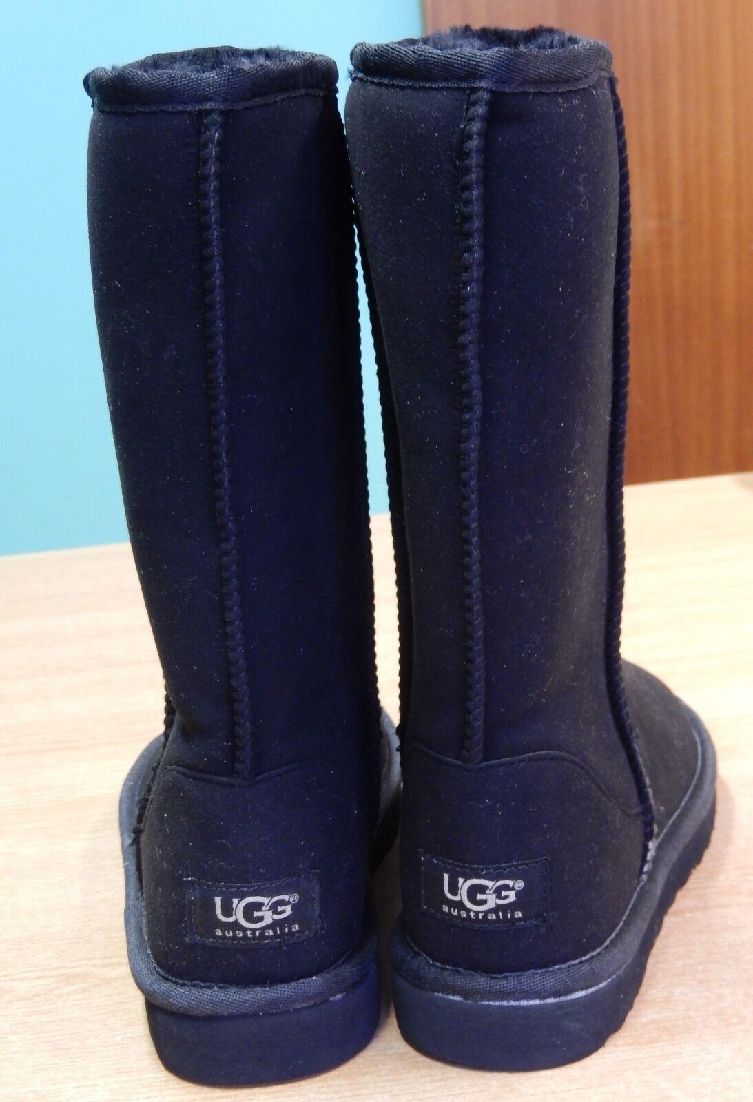 BRAND NEW BLACK BLACK BLACK  Stiefel SIZE 4 / AUS W5 6b1056