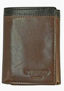 Duchamp-London-Men-039-s-RFID-Genuine-Leather-Tri-Fold-Wallet-NWT