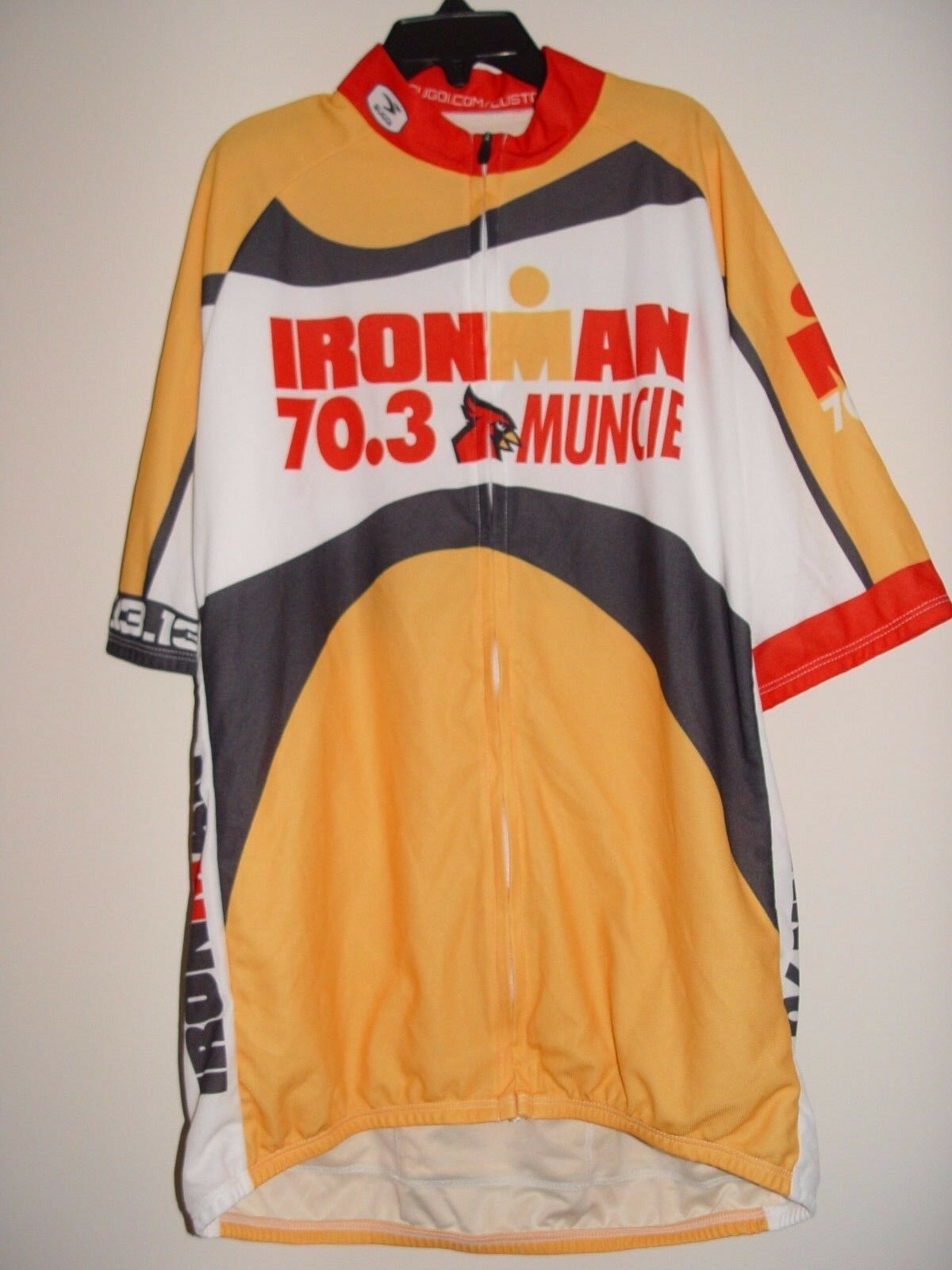 NEW IRONMAN 70.3 Muncie Sugoi Men's Cycling Jersey Size Medium