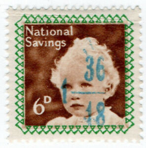 I-B-Cinderella-Collection-National-Savings-Princess-Anne-6d-1953
