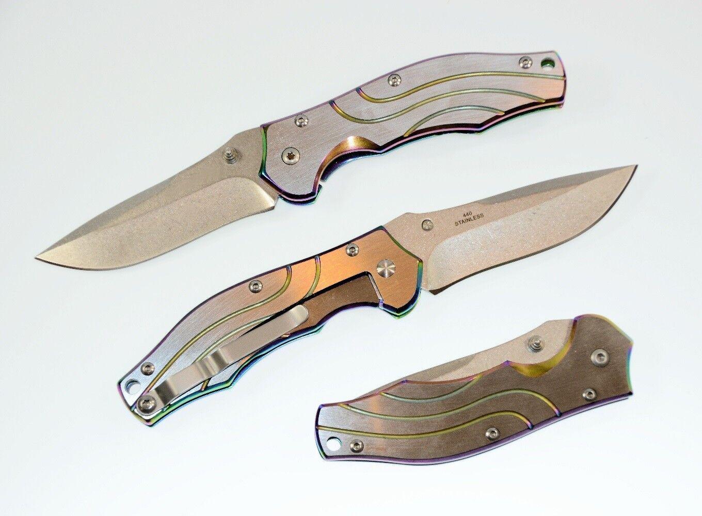 Couteau à main couteau canif couteau pliant pliant pliant couteau de chasse Camping Outdoor me580 a492cd