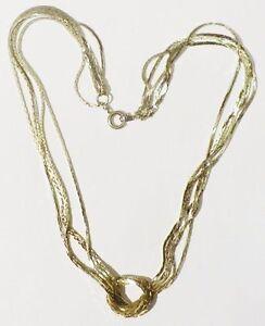 collier-bijou-vintage-annees-1970-5-chaines-deco-n-ud-couleur-or-patine-8994