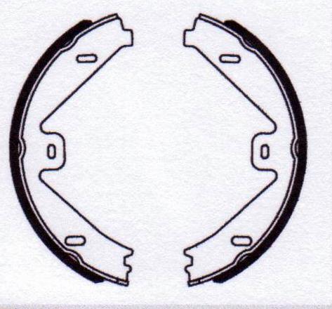 E Class S212//W212 09-15 Rear Hand Brake Shoes C218 09- Mercedes CLS