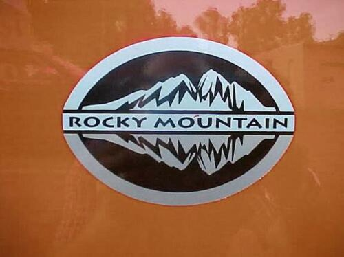 ROCKY MOUNTAIN DECALS FOR WRANGLER RUBICON DOOR STICKERS VINYL