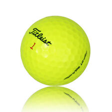12 Titleist DT SoLo Yellow Mint AAAAA Recycled Used Golf Balls