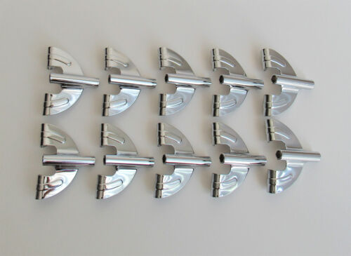 10 New Bass Drum Claws Chrome Vintage Style Butterfly Style Drum Parts Repairs