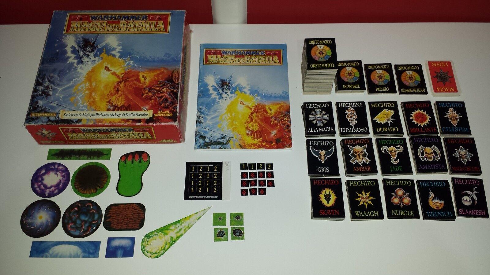 Suplemento WARHAMMER MAGIA DE  BADimensione giocos lavoronegozio Referencia 3118 ©1993  disegni esclusivi