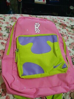 herramienta competencia Frenesí  Nike Kid's Patrick Star Classic Kyrie Backpack SpongeBob nickelodeon  cn2219-610 193152712263 | eBay