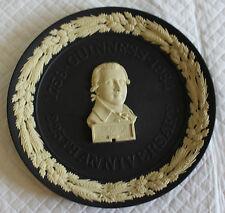 Wedgwood Jasperware Black Guinness 225 Year Anniversary Plate