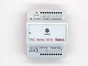 SCHNEIDER TAC XENTA 451A
