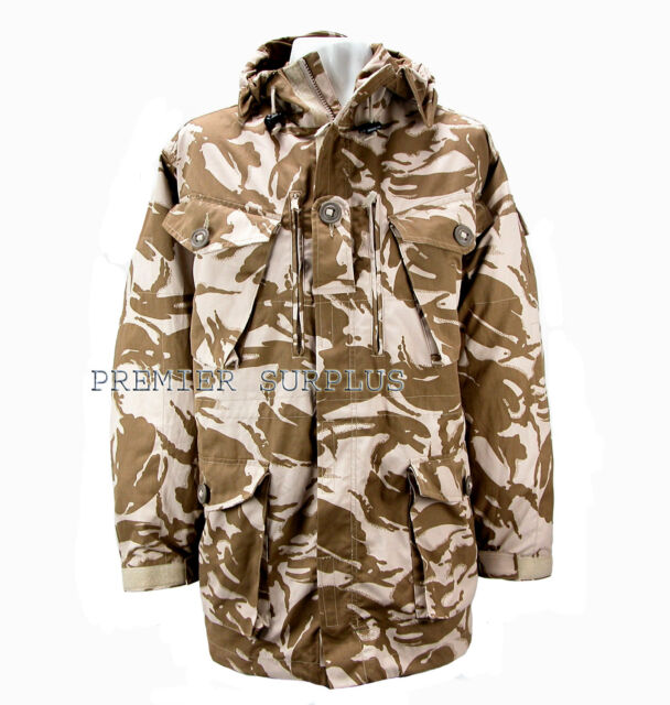 Genuine British Army Desert DPM Camo Windproof Smock NEW
