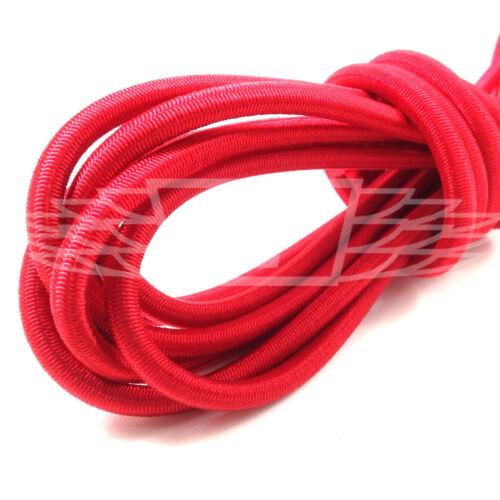 8mm x 10 METERS RED STRONG ELASTIC BUNGEE ROPE SHOCK CORD TIE DOWN FREE POST