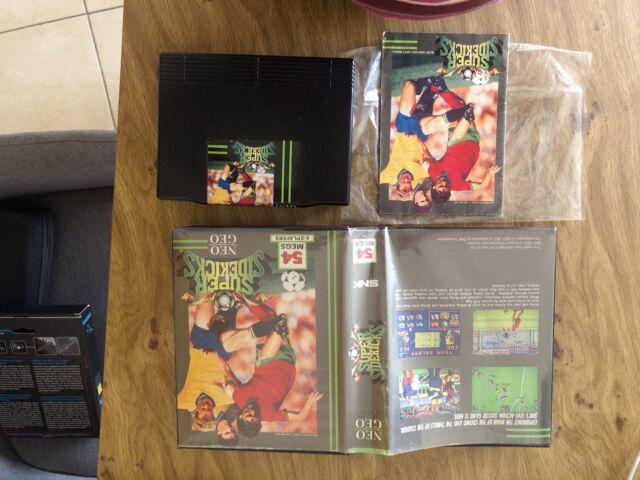 SUPER SIDEKICKS US neo geo AES - SNK arcade game (not MVS)