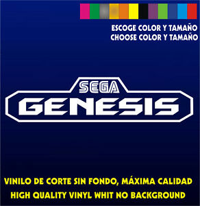 Sticker-Vinilo-SEGA-GENESIS-Bartop-Arcade-Pegatina-Vinyl-Aufkleber