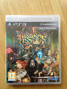 Dragon-039-s-Crown-PS3-PAL-Excellent-condition-Partically-sealed