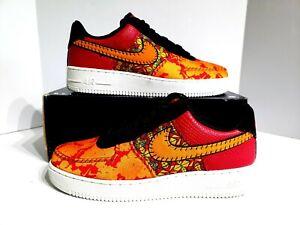 Подробные сведения о Nike Air Force 1'07 PRM 3 низкий китайский Новый год обувь AT4144 601 мужские размер 10 показать заголовок оригинала