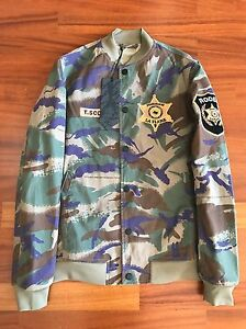 best sneakers 72ac4 d75fe Details about Maharishi x Travis Scott Year Of The Cowboy Tour Jacket Camo  Size S New