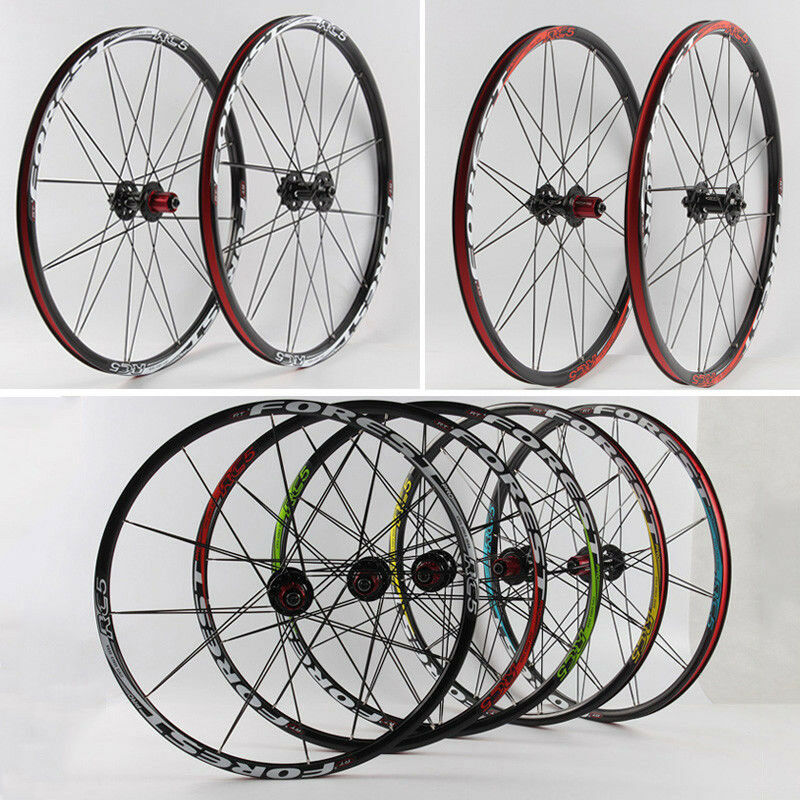 26 27.5er MTB Bicycle Wheels 11S Cassette Carbon Hub Bearings Bike Wheelset & QR