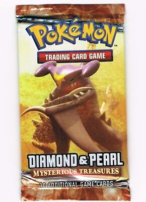 POKEMON DIAMOND /& PEARL MYSTERIOUS TREASURES BOOSTER PACK
