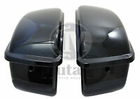Mutazu Vivid Black Hard Saddlebag For Harley Sportster 1200 883 Xl Models 04 Up