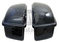 Mutazu Vivid Black Hard Saddlebag For Harley Sportster 1200 883 Xl Models 04 Up